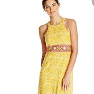 Prana Marigold Maxi Dress in Sz XS